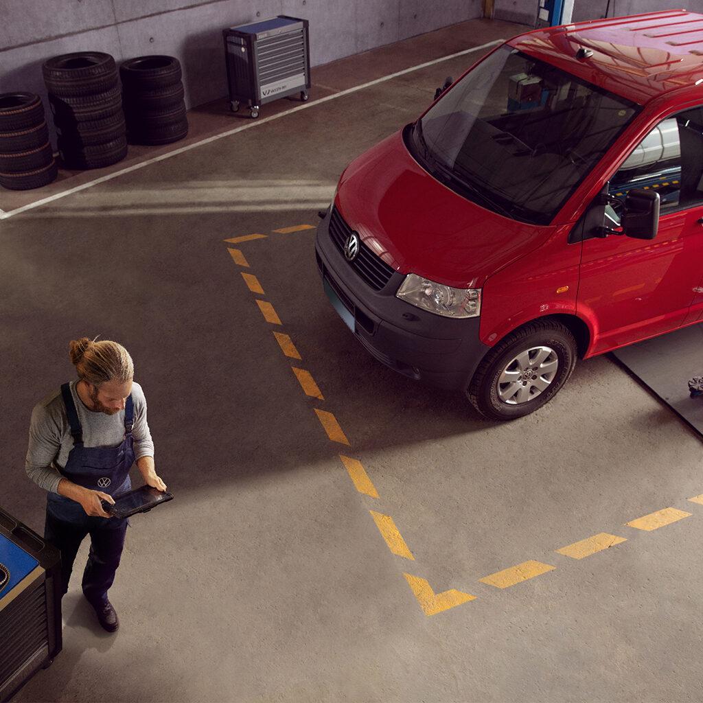 15% voordeel op onderhoud voor Volkswagen Bedrijfswagens ouder dan 5 jaar